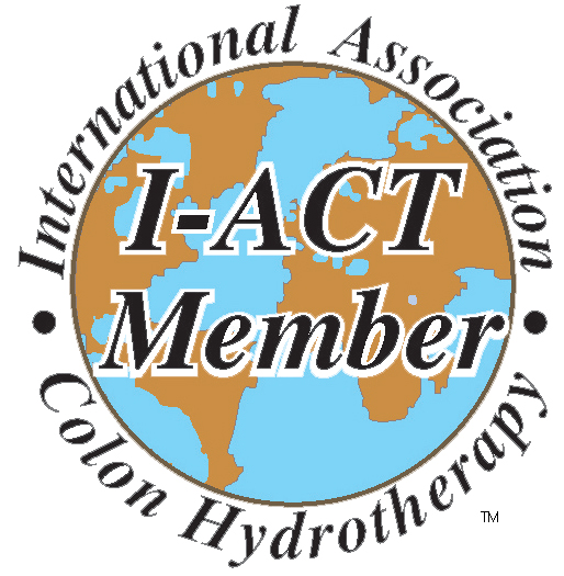 Certified by the International Association of Colon Therapists, (I-ACT), at the Instructor Level